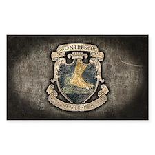 Montresor Coat Of Arms Decal