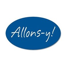 French Allons-y Wall Decal