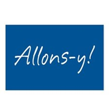 French Allons-y Postcards (Package of 8)