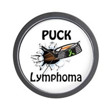 Puck Lymphoma Wall Clock