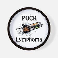 Puck Lymphoma Wall Clock