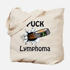 Puck Lymphoma Tote Bag