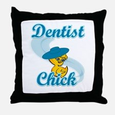 Dentist Chick #3 Throw Pillow
