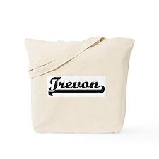 Black jersey: Trevon Tote Bag