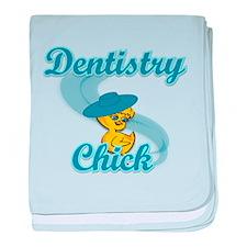 Dentistry Chick #3 baby blanket