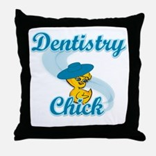 Dentistry Chick #3 Throw Pillow