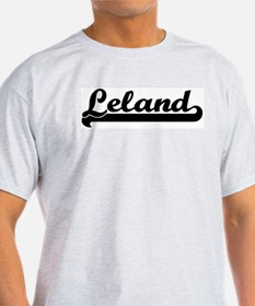 Black jersey: Leland Ash Grey T-Shirt