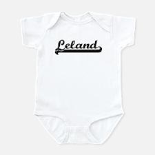 Black jersey: Leland Infant Bodysuit