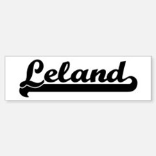 Black jersey: Leland Bumper Bumper Bumper Sticker