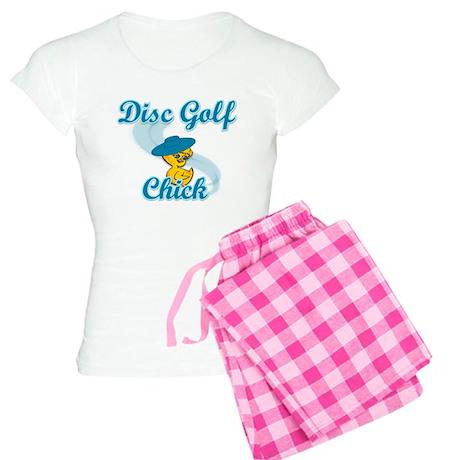Disc Golf Chick #3 Women's Light Pajamas