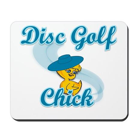 Disc Golf Chick #3 Mousepad