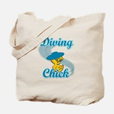 Diving Chick #3 Tote Bag