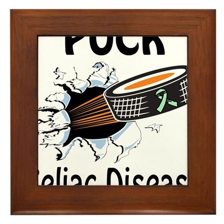 Puck Celiac Disease Framed Tile
