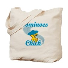 Dominoes Chick #3 Tote Bag