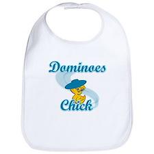 Dominoes Chick #3 Bib