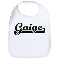 Black jersey: Gaige Bib