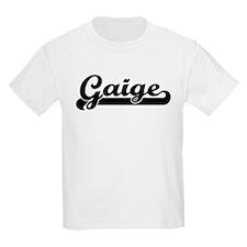 Black jersey: Gaige Kids T-Shirt