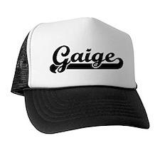 Black jersey: Gaige Trucker Hat