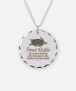 Protect Sea Turtles Necklace