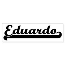 Black jersey: Eduardo Bumper Bumper Bumper Sticker