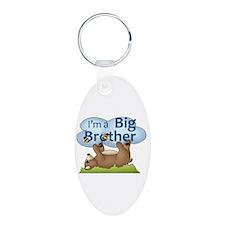 Im a Big Brother Bear Keychains