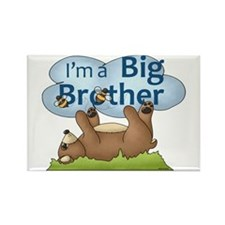 Im a Big Brother Bear Rectangle Magnet