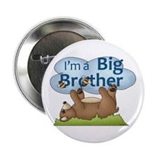 "Im a Big Brother Bear 2.25"" Button"