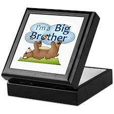 Im a Big Brother Bear Keepsake Box