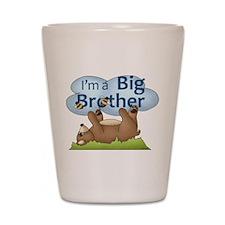 Im a Big Brother Bear Shot Glass