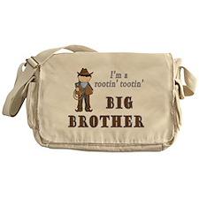 Cowboy Rootin Tootin Big Brother Messenger Bag
