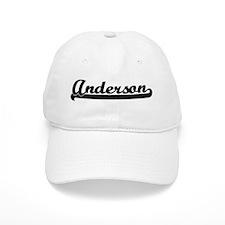 Black jersey: Anderson Baseball Cap