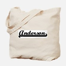 Black jersey: Anderson Tote Bag