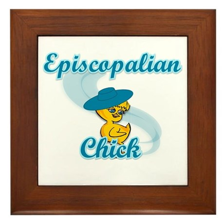 Episcopalian Chick #3 Framed Tile