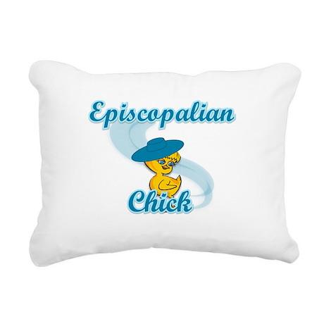 Episcopalian Chick #3 Rectangular Canvas Pillow