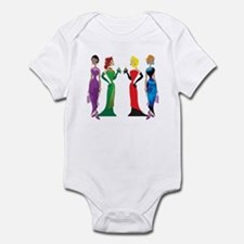 Ladies' Night Infant Bodysuit