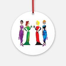 Ladies' Night Ornament (Round)