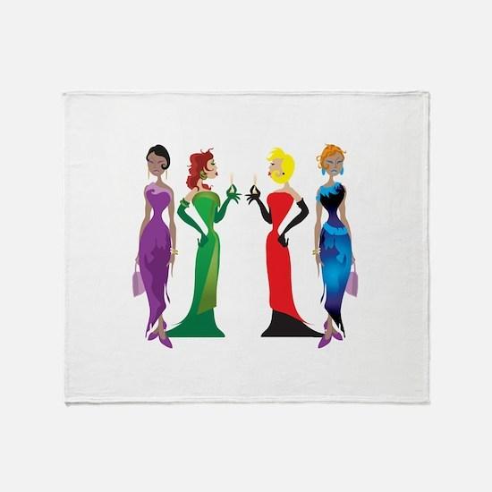 Ladies' Night Throw Blanket