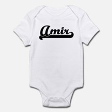 Black jersey: Amir Infant Bodysuit