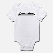 Black jersey: Demarion Infant Bodysuit