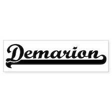 Black jersey: Demarion Bumper Bumper Sticker