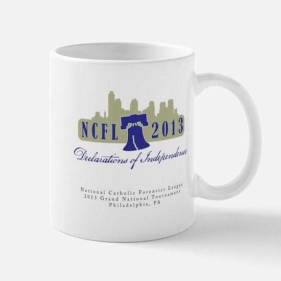 NCFL 2013 Logo with text Mugs