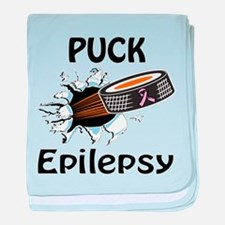 Puck Epilepsy baby blanket