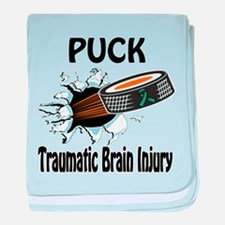 Puck Traumatic Brain Injury baby blanket