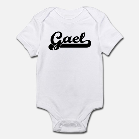 Black jersey: Gael Infant Bodysuit