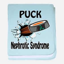 Puck Nephrotic Syndrome baby blanket