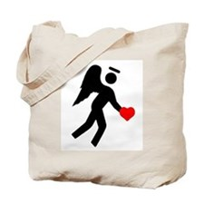 Angel Over My Shoulder Tote Bag