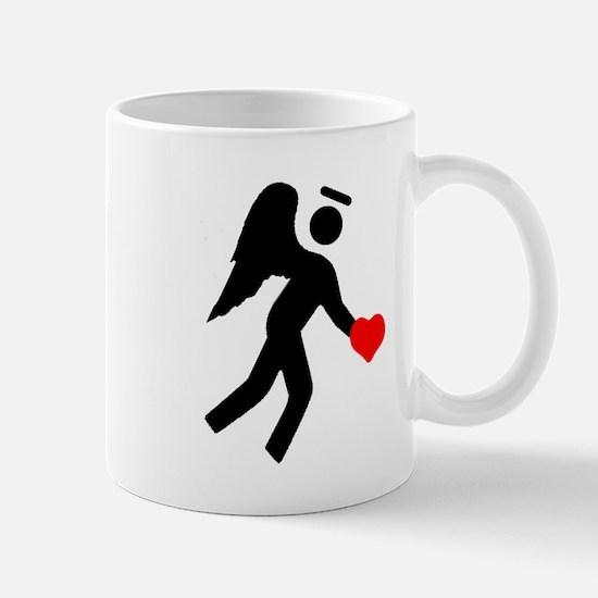 Angel Over My Shoulder Mug