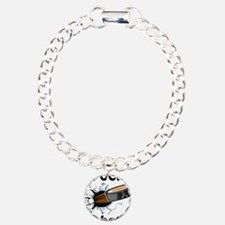 Puck Diabetes Charm Bracelet, One Charm