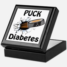 Puck Diabetes Keepsake Box