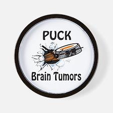 Puck Brain Tumors Wall Clock